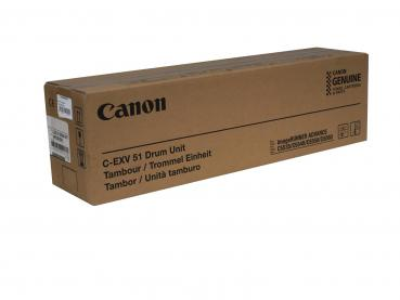 Genuine Drum Unit Typ: C-EXV51 black for Canon imageRUNNER: iR C5535 / iR C5540 / iR C5560