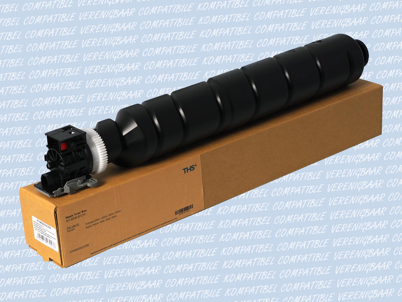Compatible Waste Toner Box Typ: WT-8500 for Kyocera TASKalfa: 2552ci /  3252ci / 3552ci / 4002i / 4052ci / 5002i / 5052ci / 6002i / 6052ci